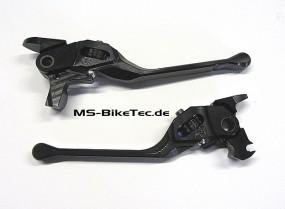 Brems- und Kupplungshebel Set einstellbar schwarz V Rod ® ab 2007