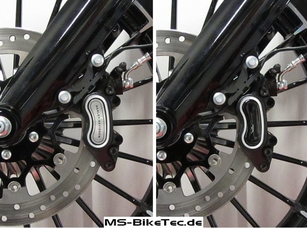 3D Bremssattel Cover Set schwarz