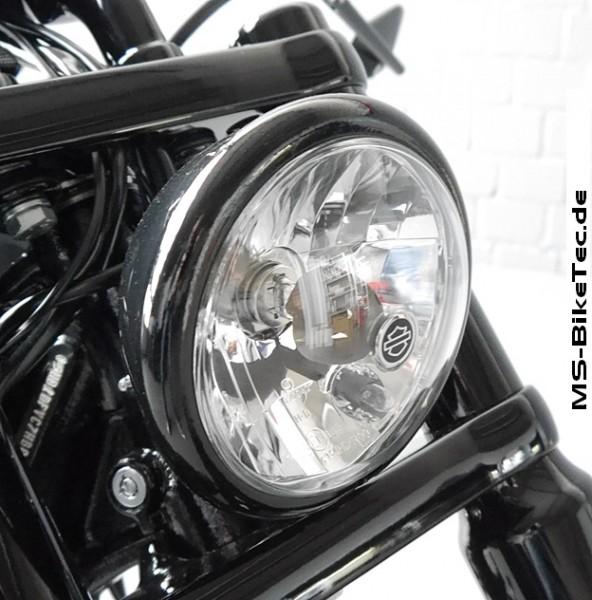 """Lampen-/ Scheinwerferring, schwarz, 5 3/4"""""""