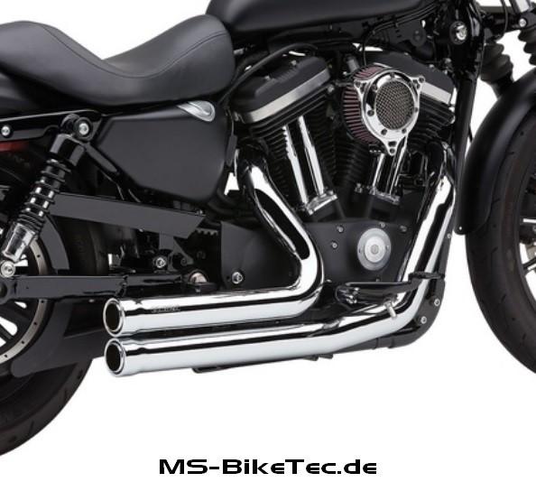 """Cobra """"Speedster X-Torque"""" Komplettanlage, mit ABE, Sportster XL Modelle"""