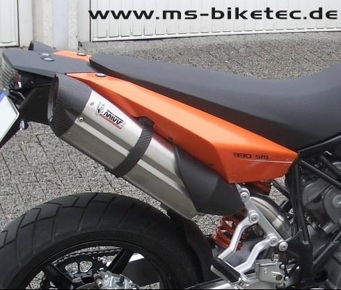 MIVV SUONO Schalldämpferpaar KTM ® Supermoto SM 950 / SM 990 / SM-T 990 mit ABE