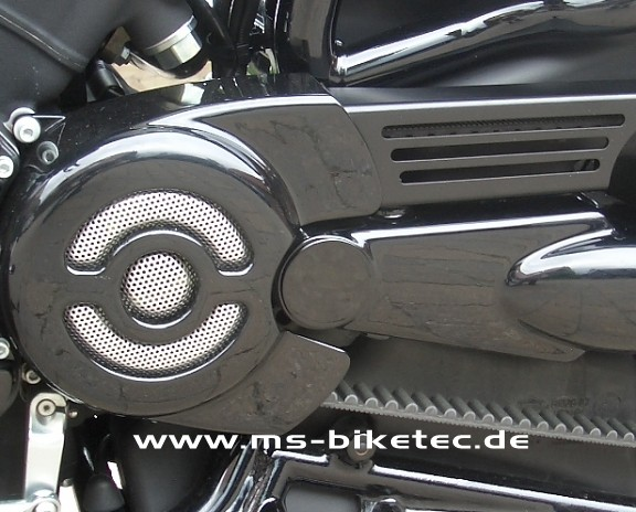Schwingen Cover schwarz V Rod ® / Night Rod Special ® / Muscle ® ab 2007