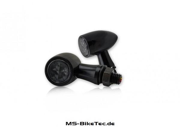 """LED-Blinker """"TEKK"""" schwarz 1Paar"""