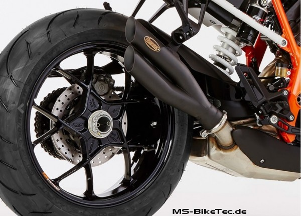 "HURRIC ""Pro 2"" slip-on KTM Superduke 1290"