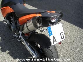 Kennzeichenhalter KTM ® Supermoto SM 950 / SM 990 / SM-R / SM-T / SE (ohne ABS)