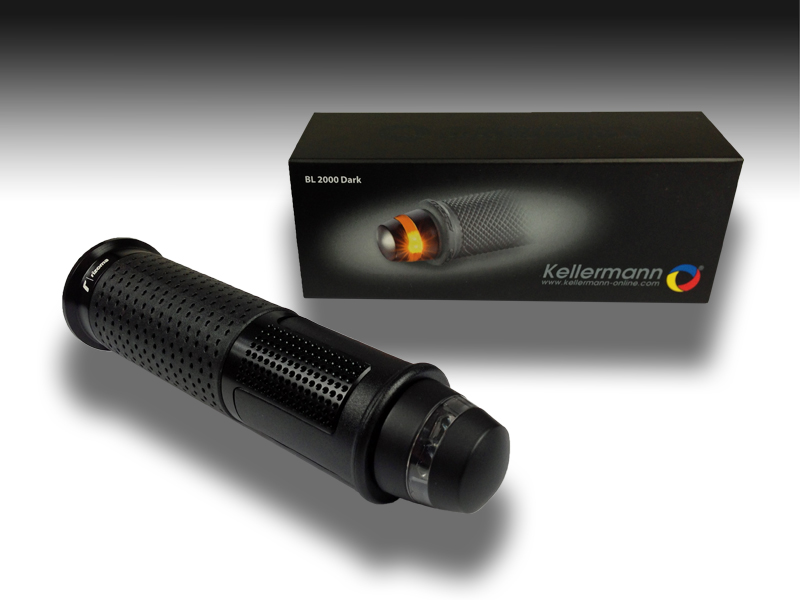 Kellermann Lenkerendenblinker BL 2000 Dark schwarz