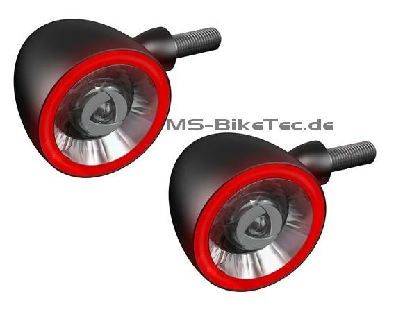 """LED Blinker """"Bullet 1000-DF"""" Kellermann mit integriertem Brems- und Rücklicht (1 Paar)"""