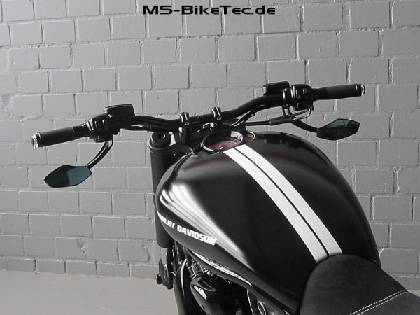 """Spiegel """"Track"""" für Harley ® V Rod ®, Sportster ®, Dyna ®, Softail ®... (2 Stück)"""
