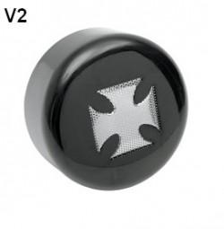 Hupen Cover / Horn Cover V1,V2,V3 für V-Rod Modelle