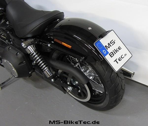 """Kennzeichenhalter """"back-up-II"""" für Dyna ® Modelle"""