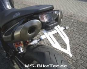 Kennzeichenhalter Edelstahl KTM ® Superduke 990