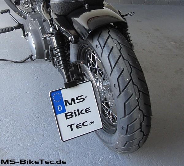 """Kennzeichenhalter """"side-low"""" mit TÜV, Sportster XL Modelle"""