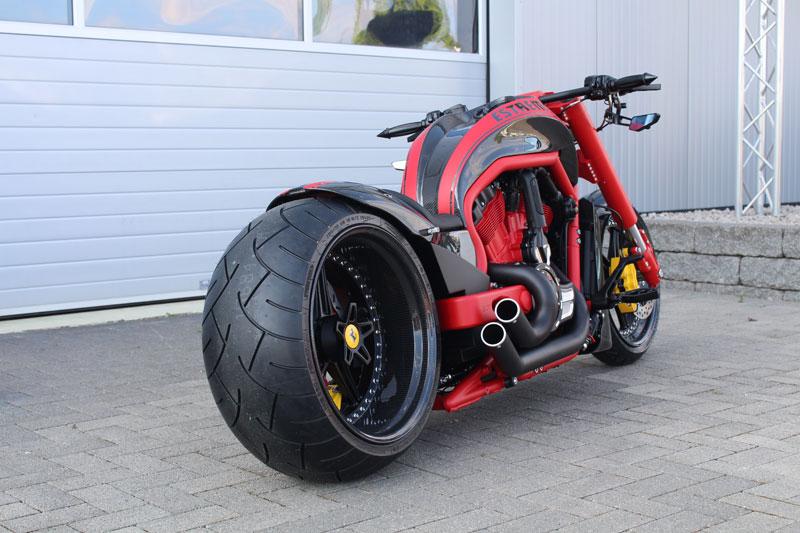 Harley Davidson V Rod Drag Pipes
