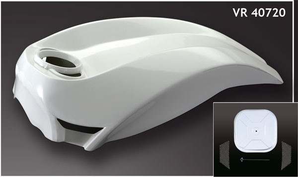 "Airbox-Cover ""NLC V-3"" V Rod ® und Night Rod Special ®"