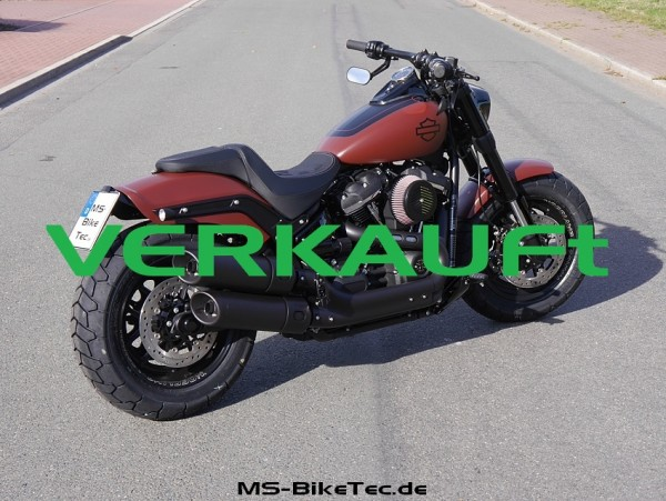 MS-Umbau: Softail Fat Bob FXFB