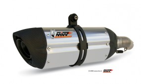 MIVV Slip-On Schalldämpferpaar SUONO ab Bj.05 KTM ® Superduke 990 mit ABE