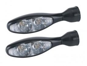 LED-Blinker micro 1000 DF schwarz 3in1 Kellermann mit integriertem Brems- und Rücklicht (1 Paar)