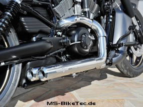 Big Guns Smooth 2in2 Komplettanlage mit ABE für V-Rod ® / Night Rod Special ® / Muscle ® ab Bj.2007