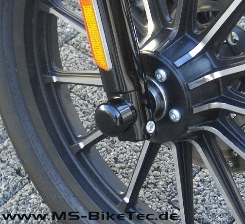Achsen Cover (vorne) Sportster ® Modelle (1 Paar)