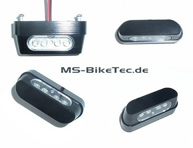 LED mini Kennzeichenbeleuchtung e-geprüft