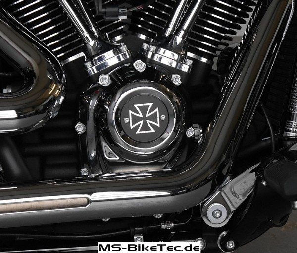 Point-Cover für Softail ab 2018 + Touring ab 2017