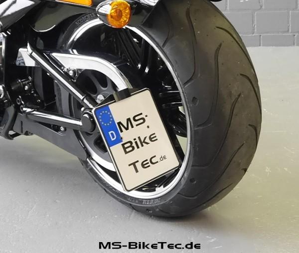 """Kennzeichenhalter """"side-low"""" mit TÜV für alle Softail Modelle ab 2018"""