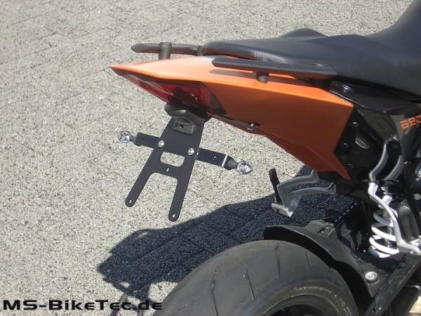 Kennzeichenhalter Edelstahl KTM ® Duke 690 + Supermoto 690 bis Bj.2011