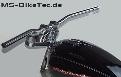 Streetbar Lenker 1Zoll (Stahl + Aluminium)