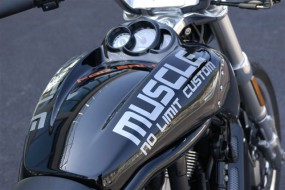 NLC Airbox-Cover für V-Rod Muscle Modelle