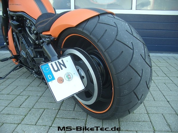 "Kennzeichenhalter ""side-low-short-I"" V-Rod ® Modelle"