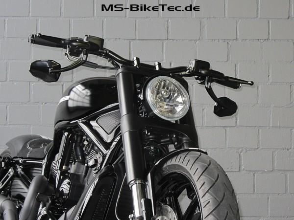 "Spiegel ""Torra"" für Harley ® V Rod ®, Sportster ®, Dyna ®, Softail ®... (2 Stück)"