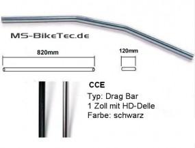 Drag Bar Lenker 1Zoll (Stahl + Aluminium)