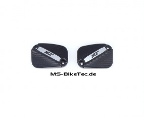 NLC Alu Kupplungs- u. Bremszylinderdeckel V Rod ® Modelle ab Bj.2007